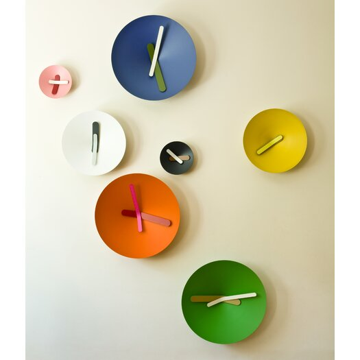 """Diamantini & Domeniconi Mozia 10.25"""" Wall Clock"""