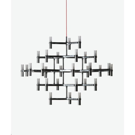 Nemo Italianaluce Crown 30 Light Major Crystal Chandelier