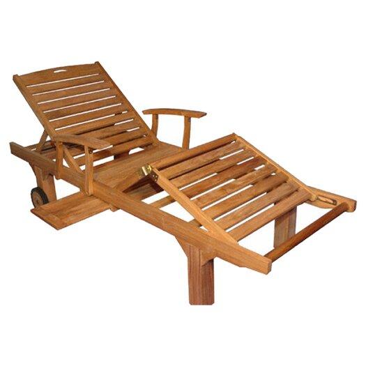 Regal Teak Sun Lounge Chair