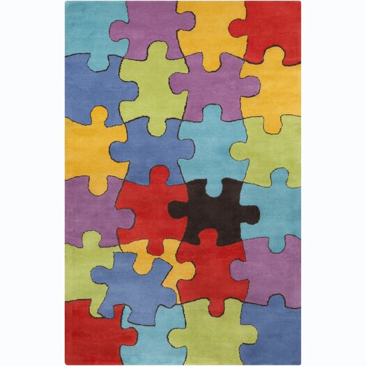 Filament  LLC Cinzia Jigsaw Puzzle Area Rug