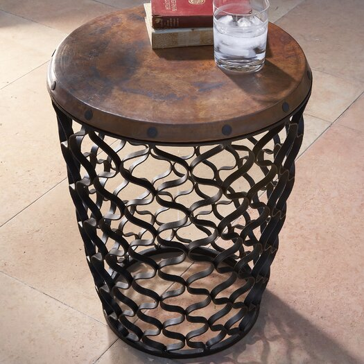 Global Views Small Arabesque End Table