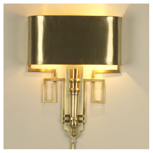 Global Views Torch 2 Light Wall Sconce