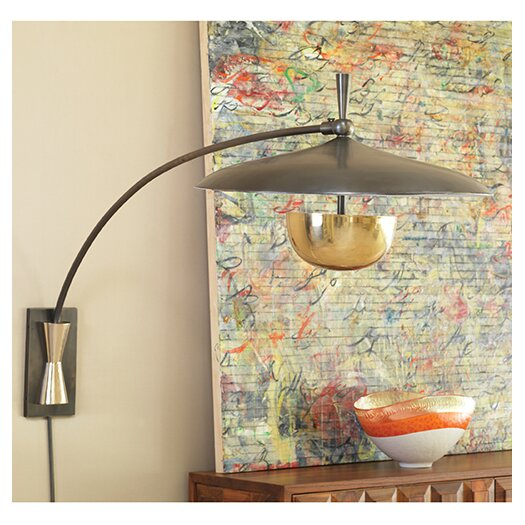 Global Views Flying 2 Light Wall Sconce