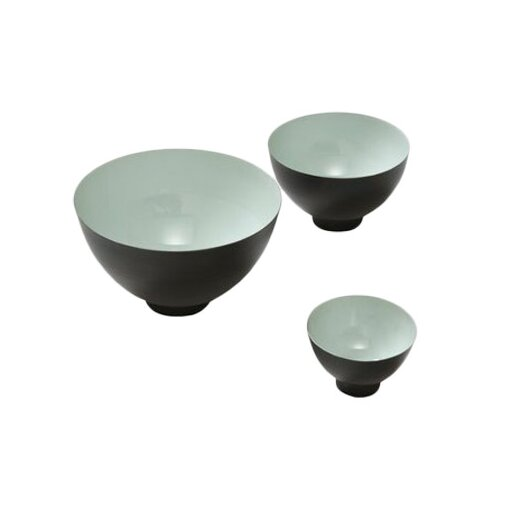 Global Views 3 Piece Flying Bowls Wall Décor