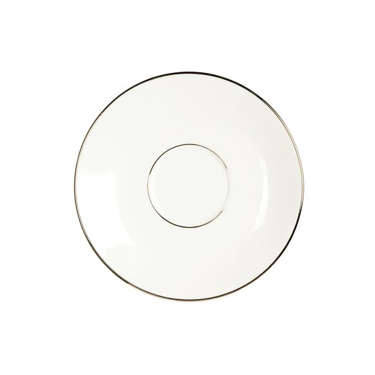 Jasper Conran Platinum Fine Bone China Tea Saucer