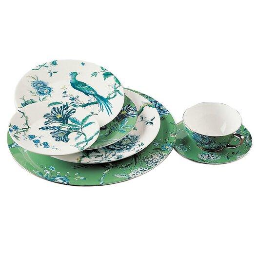 "Jasper Conran Chinoiserie Green 9"" Plate"