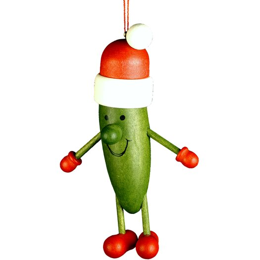Christian Ulbricht Pickle Santa Ornament