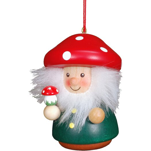 Christian Ulbricht Mushroom Man Ornament