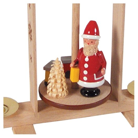 Alexander Taron Dregeno Santa with Train Miniature Pyramid