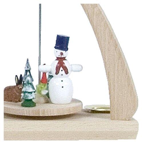 Alexander Taron Dregeno Snowman Miniature Pyramid