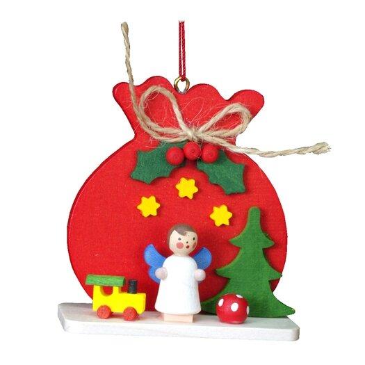 Alexander Taron Christian Ulbricht Red Sack with Angel Ornament