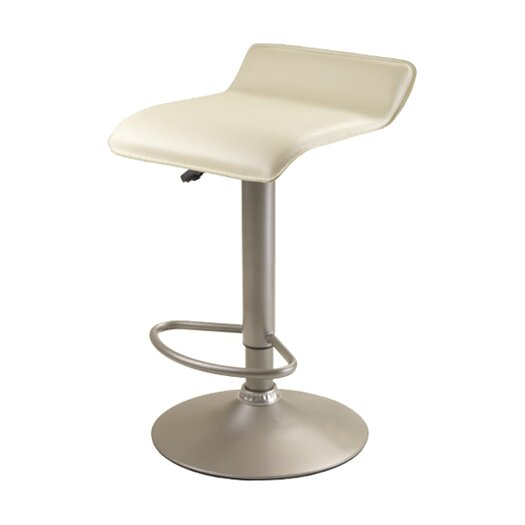 Winsome Airlift Adjustable Height Bar Stool