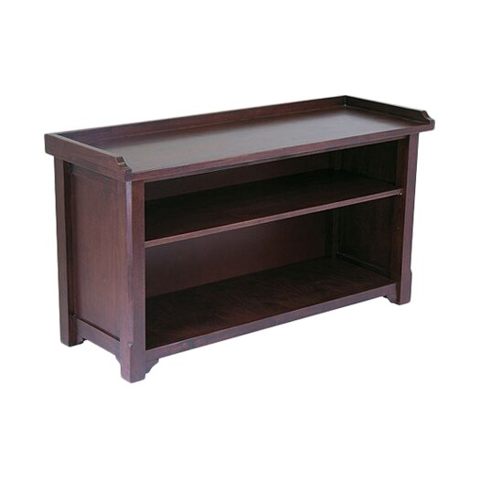 Winsome Antique Walnut Wooden Storage Bench
