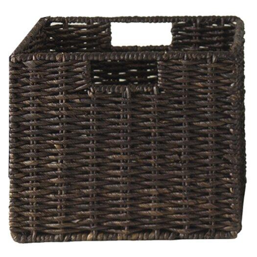 Winsome Granville Corn Husk Basket