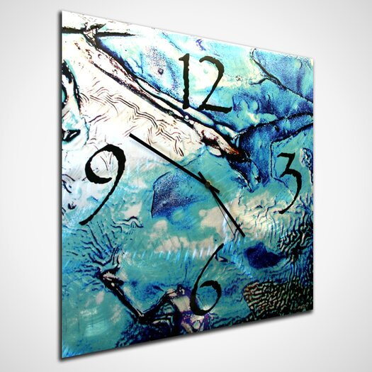 "Metal Art Studio 22"" Cool Jazz Wall Clock"