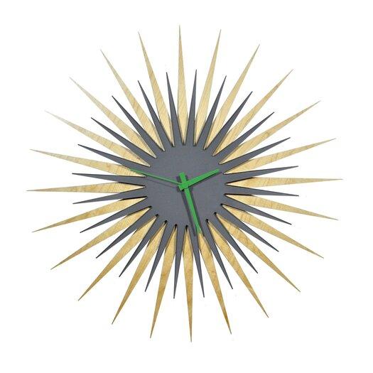"Metal Art Studio 23"" RF Atomic Wall Clock"