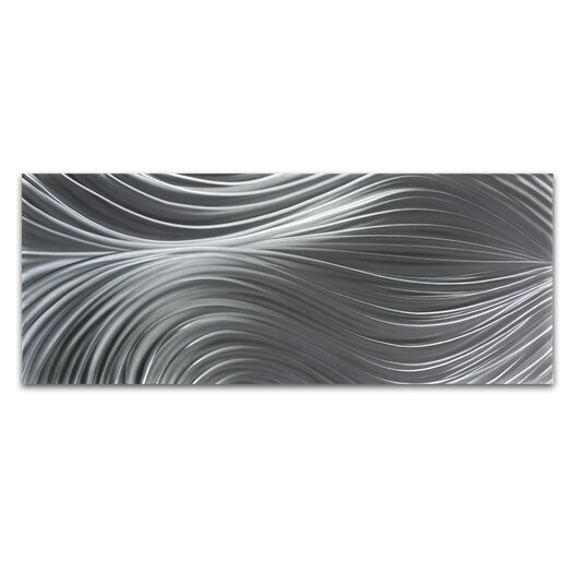 Metal Art Studio Passing Currents Composition Graphic Art Plaque