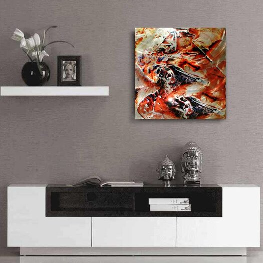 Metal Art Studio Hot Jazz Graphic Art Plaque