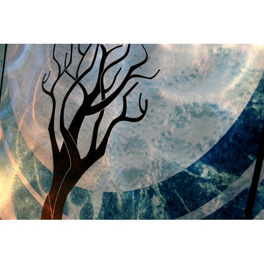Metal Art Studio Twilight Graphic Art Plaque