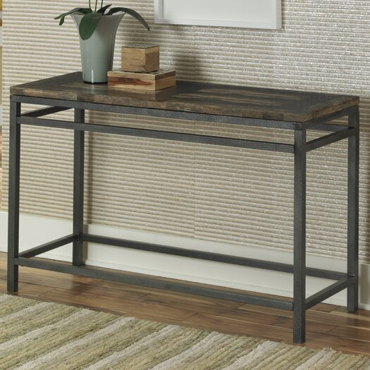 Home Styles Turn to Stone Console Table