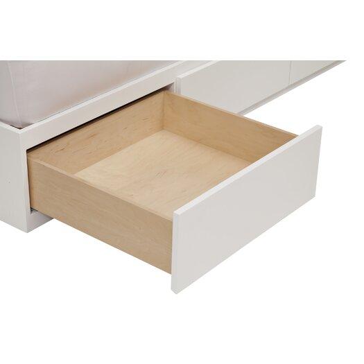 Urbangreen Furniture Urban Basics Twin 3 Drawer Storage Platform Bed