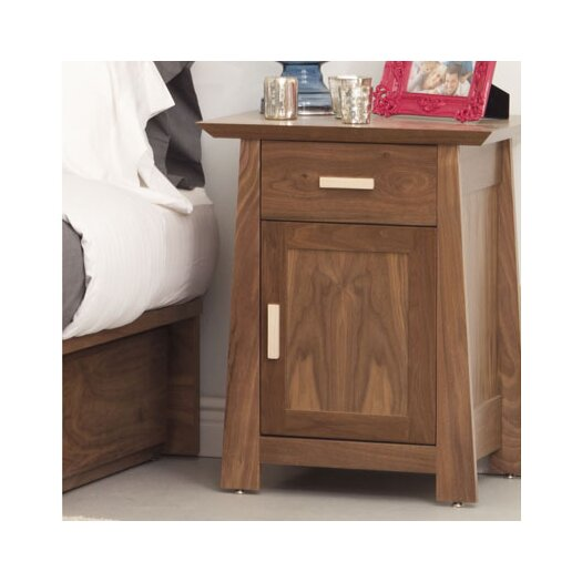 Urbangreen Furniture Hamilton 1 Drawer Nightstand