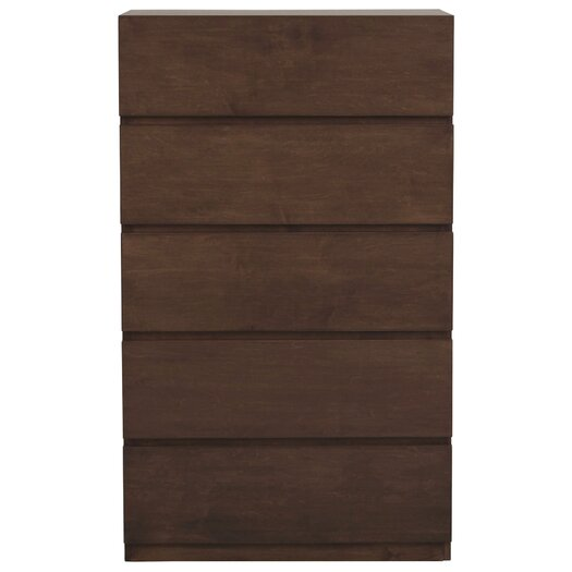 Urbangreen Furniture Urban Basics 5 Drawer Chest