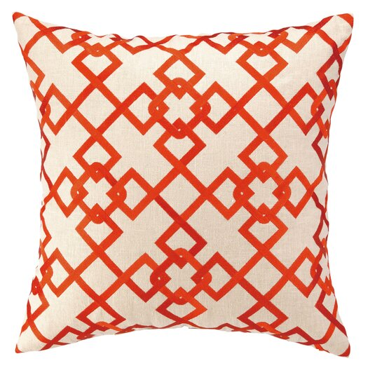 Courtney Cachet Chain Link Embroidered Decorative Pillow