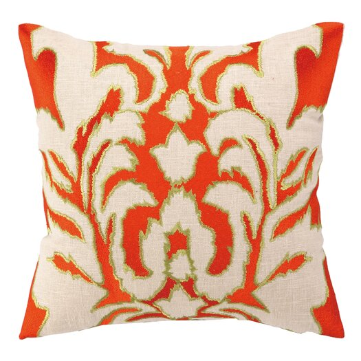 Courtney Cachet Ikat Embroidered Decorative Pillow
