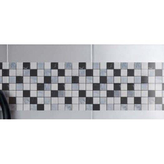 "Faber Blend 2"" x 2"" Mesh-Mounted Marble Mosaic"