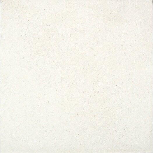 """Faber Applestone Tile 16"""" x 16"""" Limestone Honed Tile in Light Cream"""