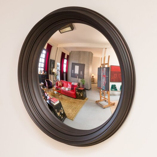 "Reflecting Design Corinth 33"" Convex Wall Mirror"