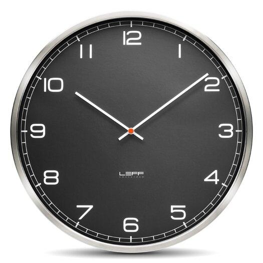 "Leff Amsterdam One45 17.7"" Glass Wall Clock"