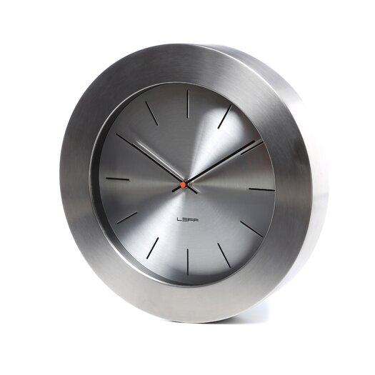 "Leff Amsterdam Bold 13.8"" Wall Clock"