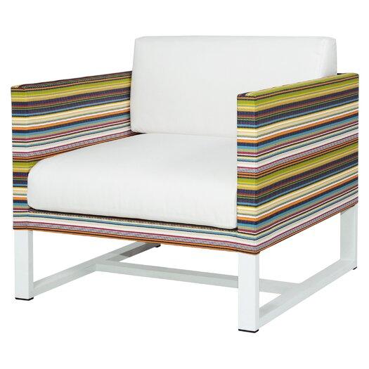 Mamagreen Stripe 1-Seater Sofa with Cushion