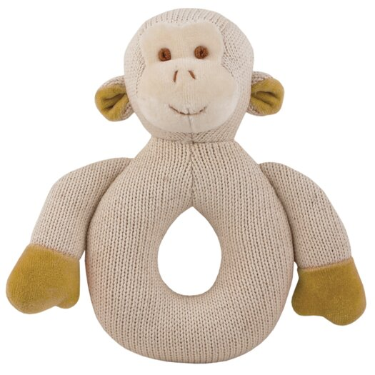 Miyim Nursery Monkey Knitted Teether