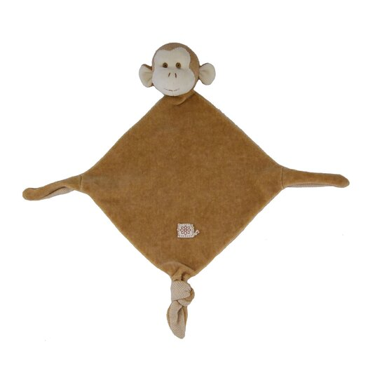 Miyim Nursery Monkey Lovie Blankie