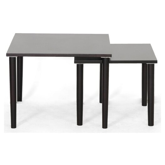 Wholesale Interiors Shaffer 2 Piece Nesting Tables