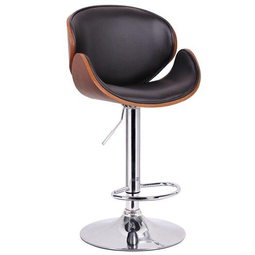 Wholesale Interiors Baxton Studio Crocus Adjustable Height Bar Stool