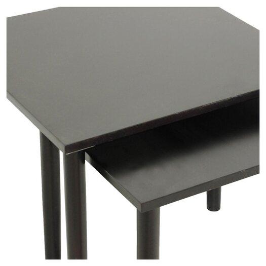 Wholesale Interiors Shaffer 2 Piece Nesting Tables