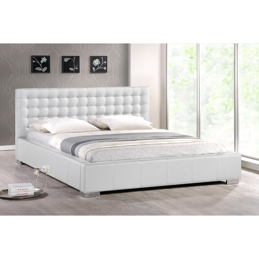 Wholesale Interiors Maddy Upholstered Platform Bed