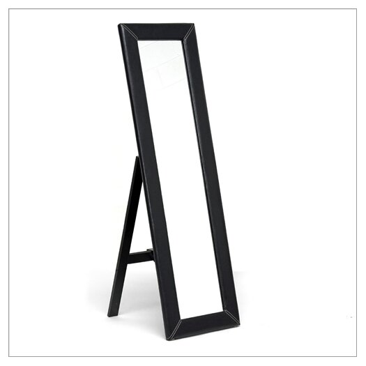 Wholesale Interiors Baxton Studio McLean Modern Mirror with Built in Stand