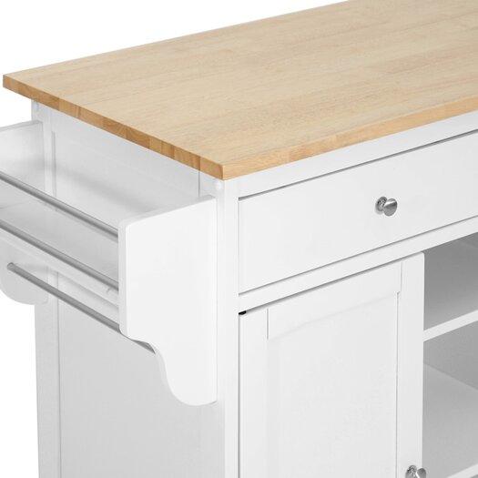 Wholesale Interiors Baxton Studio Meryland Modern Kitchen Cart