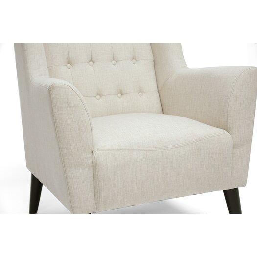 Wholesale Interiors Baxton Studio Berwick Arm Chair