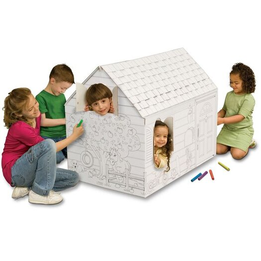 My Very Own House Hide and Seek Playhouse with Washable Markers
