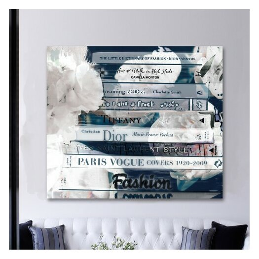 Oliver Gal Romantica Night Graphic Art on Canvas