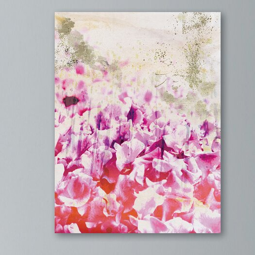 Oliver Gal Gold Spring Graphic Art on Canvas