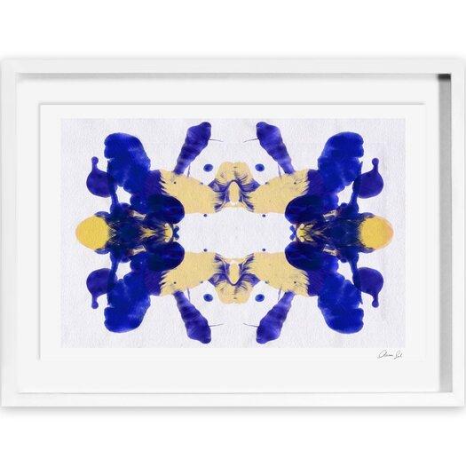 Blue Veranda Framed Painting Print