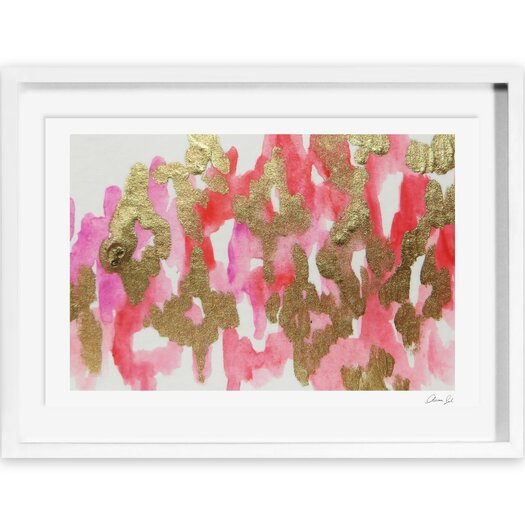 Pink Palaris Framed Painting Prints