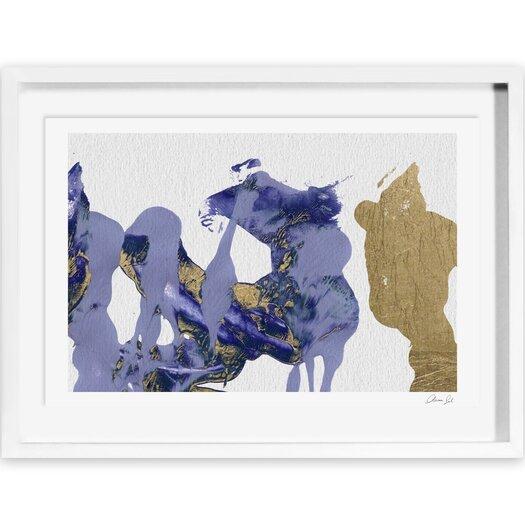 Rare Lio Framed Painting Print